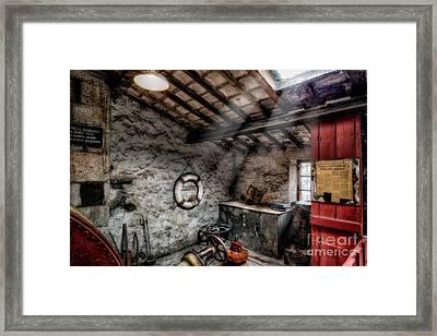 Ye Olde Workshop Framed Print by Adrian Evans