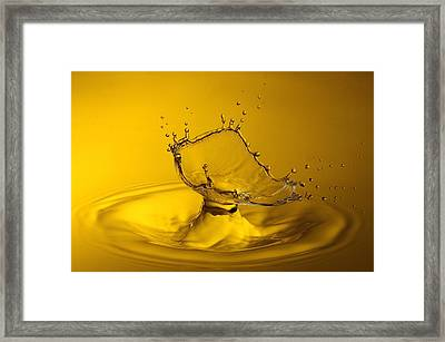 Yellow Framed Print by Barr? Thierry