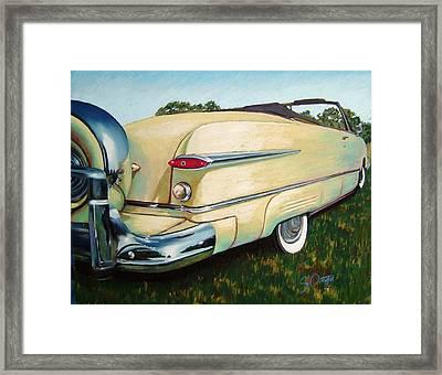 Yellow Beauty Framed Print by Sandra Ortega