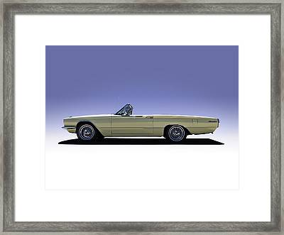 Yellow Bird Framed Print by Douglas Pittman