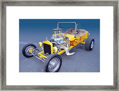 Yellow Bucket Framed Print by Bill Dutting