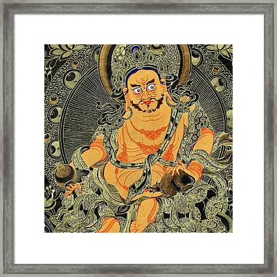 Yellow Jambhala 30 Framed Print by Lanjee Chee