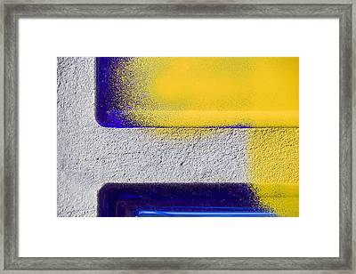 Yellow Framed Print by Marc Huebner