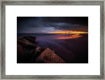 Yellow Mellow Framed Print by Edgars Erglis