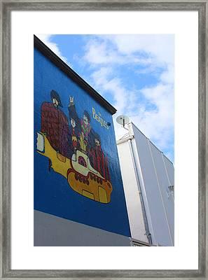 Yellow Submarine Framed Print by Viktor Savchenko