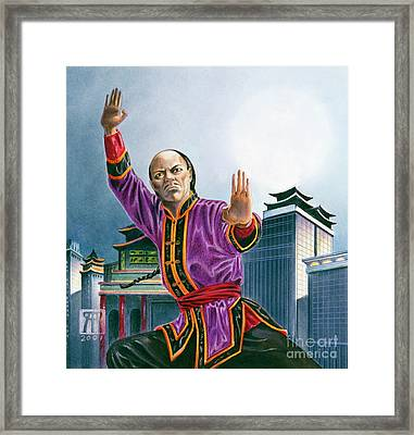 Yen Song Framed Print by Melissa A Benson