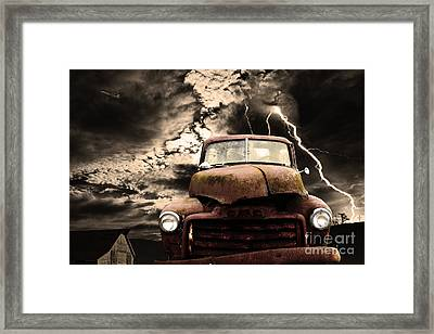 Yesterday Came Early . Tomorrow Is Almost Over Framed Print by Wingsdomain Art and Photography