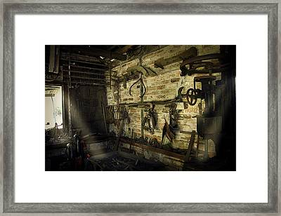 Yesterdays Technology Framed Print by Cecil Fuselier