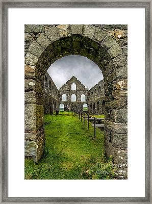 Ynysypandy Slate Mill Framed Print by Adrian Evans
