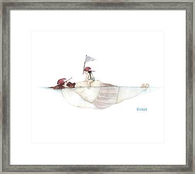 Yo Ho Ho Framed Print by Soosh