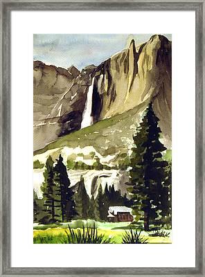 Yosemite IIi Framed Print by Bill Meeker
