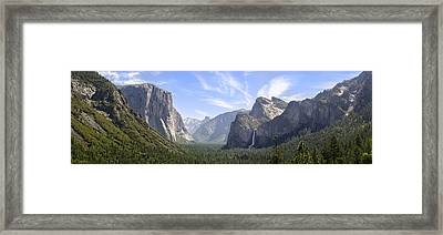 Yosemite Valley Framed Print by Francesco Emanuele Carucci