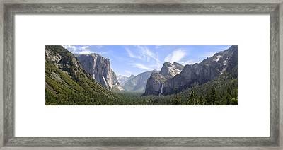 Yosemite Valley Framed Print by Francesco Emanuele Carucci