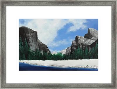 Yosemite Valley Framed Print by Robert Plog