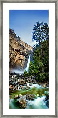 Yosemite Waterfall Framed Print by Az Jackson