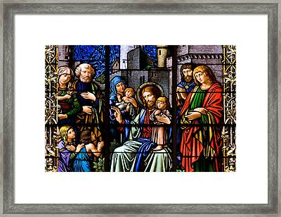 You Are Blessed Framed Print by Marc Huebner