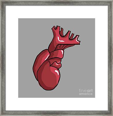 You Have My Heart My Love Framed Print by Paul Telling