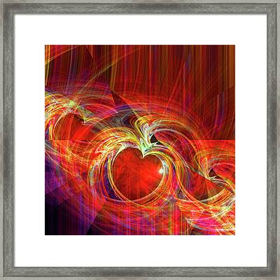 You Make Me Feel Whole Framed Print by Michael Durst