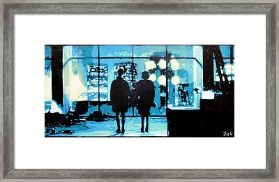 You Met Me At A Very Strange Time In My Life Framed Print by Bobby Zeik
