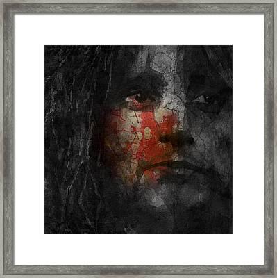 You Wear It Well  Framed Print by Paul Lovering