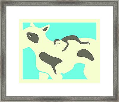 You Were Mine Forever Framed Print by Jazzberry Blue