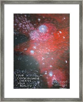 Your Consciousness Framed Print by Piercarla Garusi