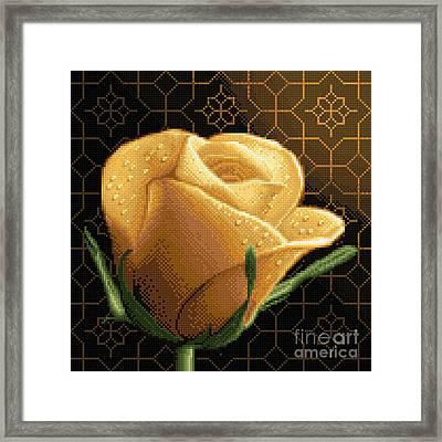 Your Rose Framed Print by Stoyanka Ivanova