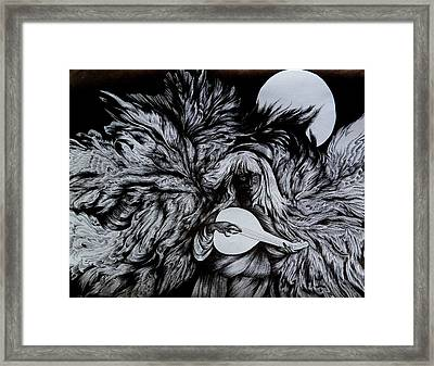 Your Seven Angels. Friday Framed Print by Anna  Duyunova