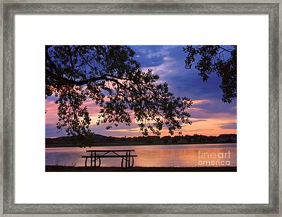 Your Table Is Ready Framed Print by James BO  Insogna