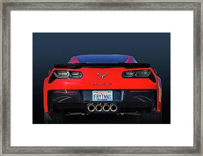 Z06 Your View Framed Print by Bill Dutting