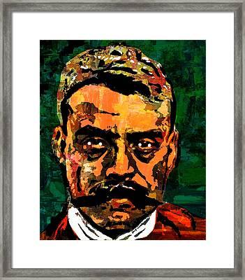 Zapata Framed Print by Otis Porritt