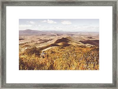 Zeehan Tasmania Framed Print by Jorgo Photography - Wall Art Gallery