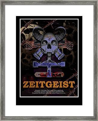 Zeitgeist Framed Print by David Artis Motoc