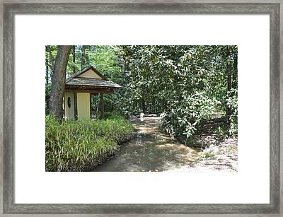 Zen Garden Framed Print by Luke Pickard