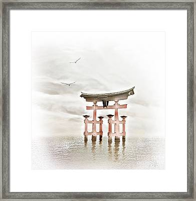 Zen Framed Print by Jacky Gerritsen