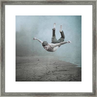 Zero Graviry  Framed Print by Anka Zhuravleva
