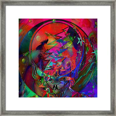 Ziggy  Framed Print by Kevin Caudill