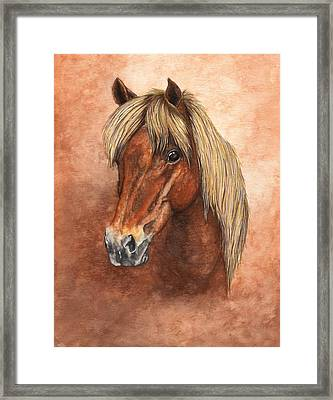 Ziggy Framed Print by Kristen Wesch