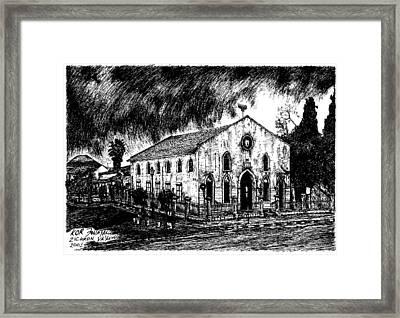 Zikron Jakov Framed Print by Jonatan Kor