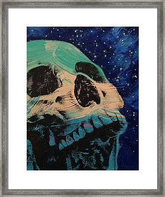 Zombie Stars Framed Print by Michael Creese