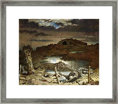 Zonnebeke  Framed Print by William