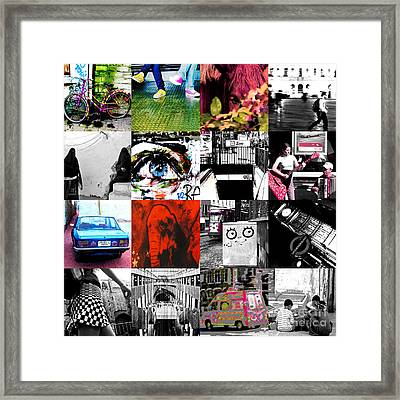 Zoobaby Framed Print by Enrique Collado