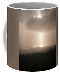 Coffee Mug featuring the photograph Minuteman IIi Missile Test by Science Source