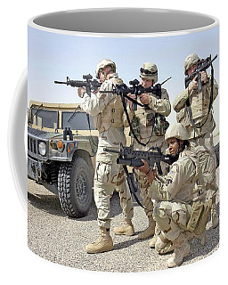 Coffee Mug featuring the photograph Air Force Squadron by Science Source