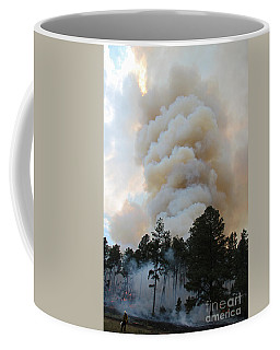 Coffee Mug featuring the photograph Burnout Near Song Dog Road by Bill Gabbert