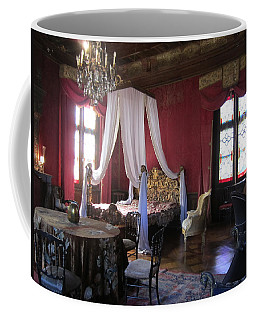 Coffee Mug featuring the photograph Chateau De Cormatin by Travel Pics