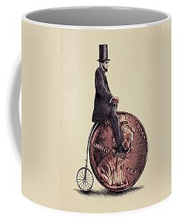 Penny Farthing Coffee Mug by Eric Fan