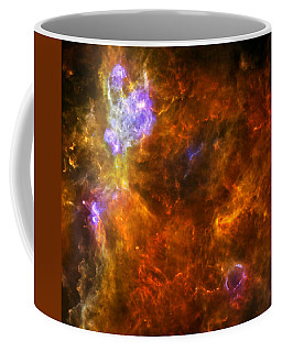 Coffee Mug featuring the photograph W3 Nebula by Science Source
