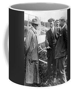 Coffee Mug featuring the photograph Wilbur Wright, 1908 by Science Source