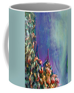 Coffee Mug featuring the digital art Ancesters by Richard Laeton